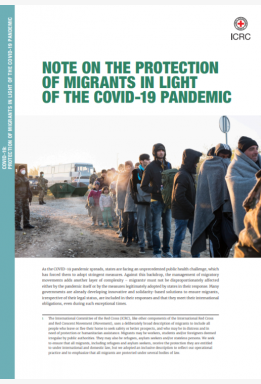 Note on Protection of Migrants in Light of the COVID-19 Pandemic