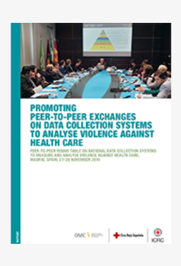 Promoting peer-to-peer exchanges on data collection systems to analyse violence against health care