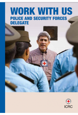 Work with Us – Police and Security Forces Delegate