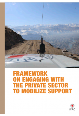 Framework on Engaging with the Private Sector to Mobilize Support