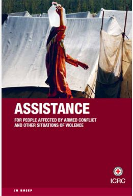 The ICRC's assistance work -- aims, basis for action, main activities and professions involved.