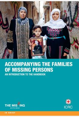 Accompanying families of missing persons, in relation to armed conflict or other situations of violence