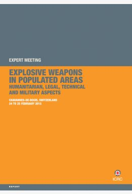 Expert Meeting: Explosive Weapons in Populated Areas