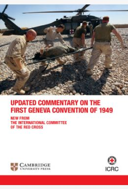 Commentary on the First Geneva Convention (flyer)