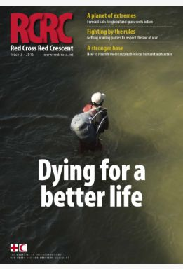 Red Cross Red Crescent: Dying for a better life (magazine)