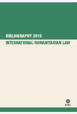 IHL Bibliography 2015