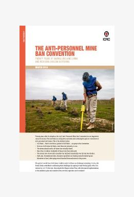 The Anti-Personnel Mine Ban Convention: Twenty Years of Saving Lives and Limbs and Reducing Civilian Suffering