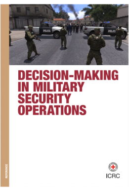 Decision-making in military security operations