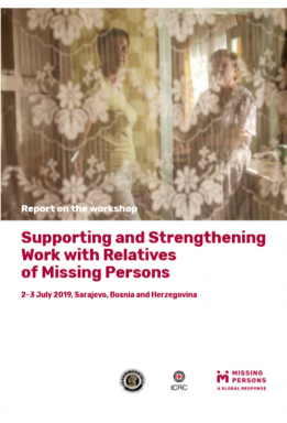 Supporting and strengthening work with relatives of missing persons