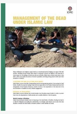 Management of the Dead Under Islamic Law