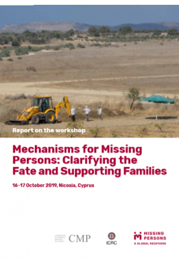 Missing Persons Cyprus Report