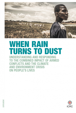 When rain turns to dust