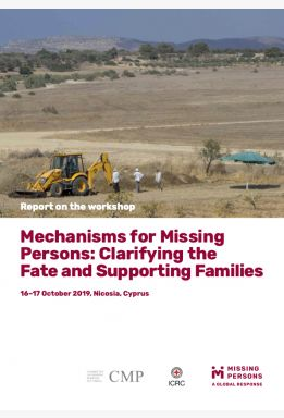Mechanisms for Missing Persons: Clarifying the Fate and Supporting Families
