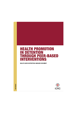 Health promotion in detention through peer-based interventions